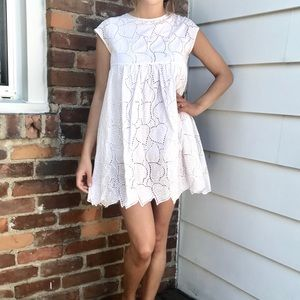 Altar'd state lace mini dress